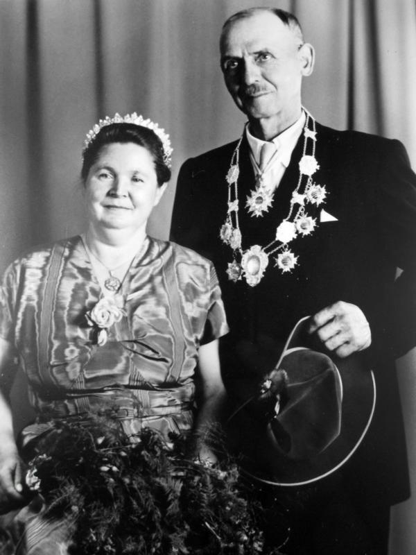Königspaar 1954-1955