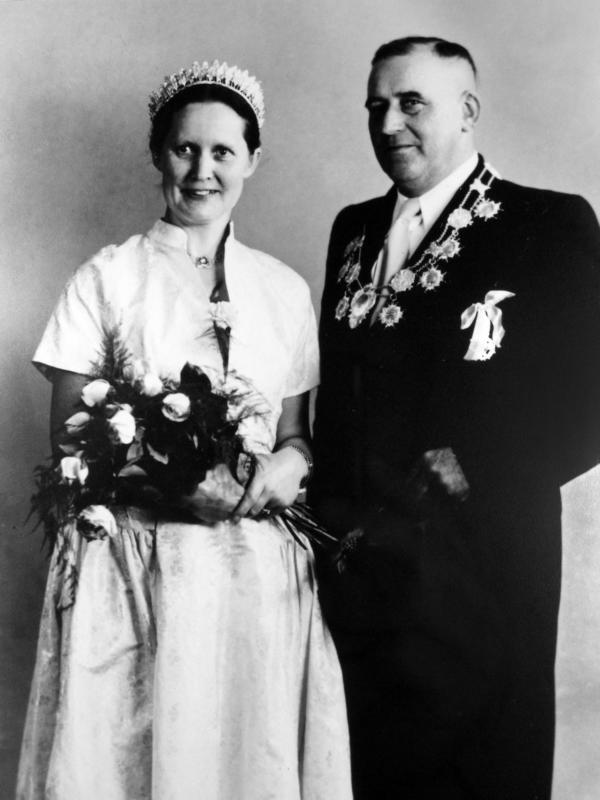 Königspaar 1956-1957