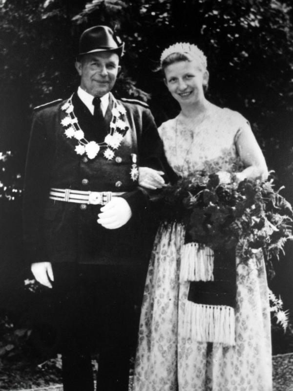 Königspaar 1957-1958