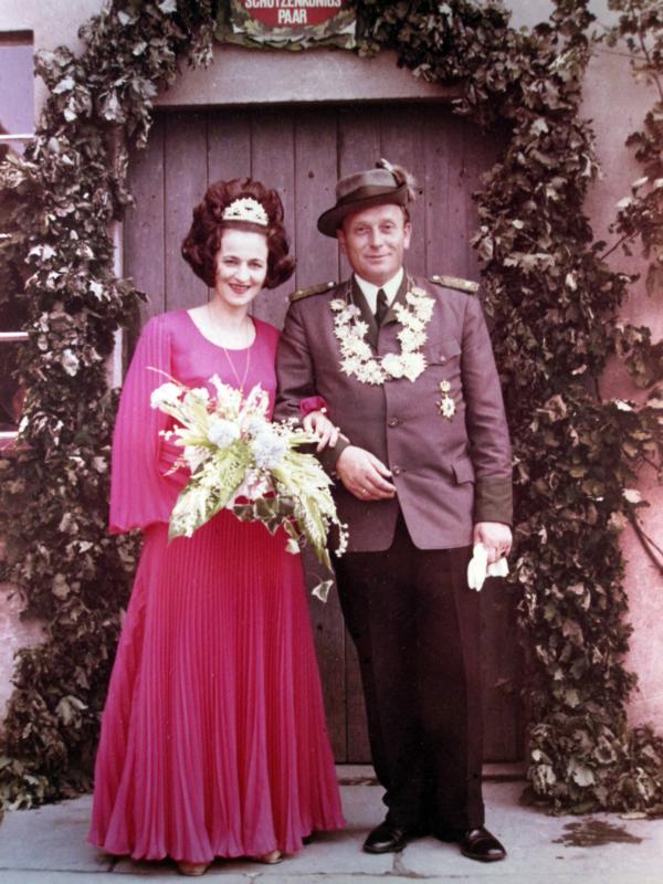 Königspaar 1971-1972