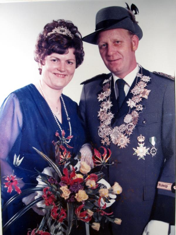 Königspaar 1977