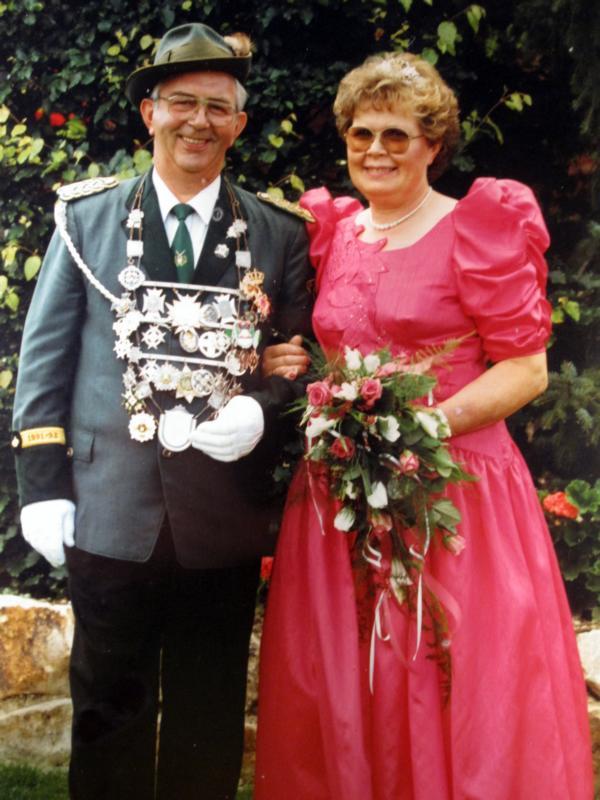 Königspaar 1991-1992