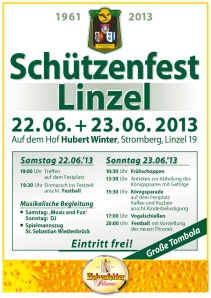 Schützenfest Linzel 2013