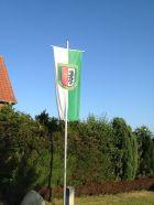 Fahne bei Familie Niehoff