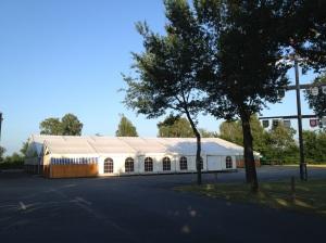 Das Schützenfestzelt 2013 - 1 Woche vor dem eigentlichen Fest!