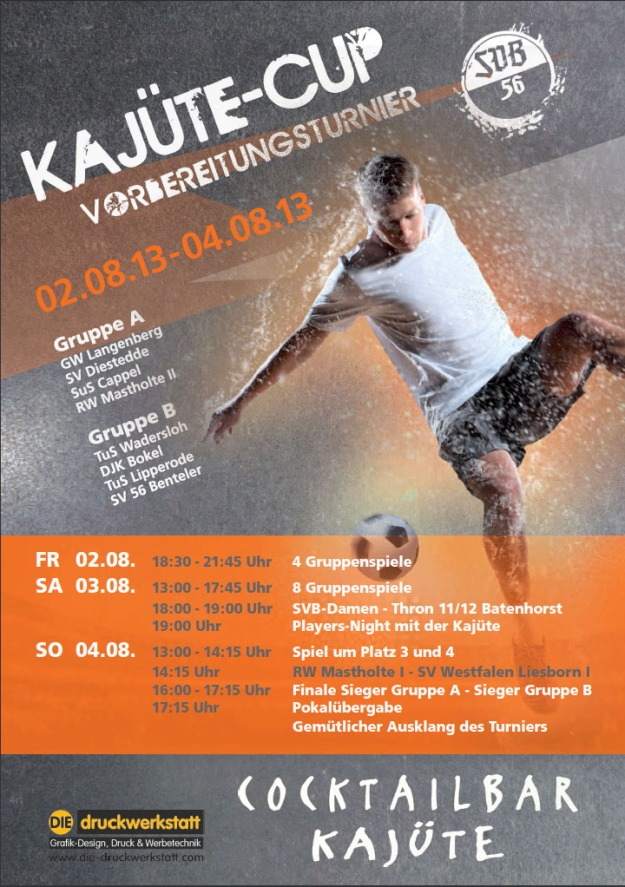Kajüte Cup: SVB Damen vs. Thronherren 2011-2012