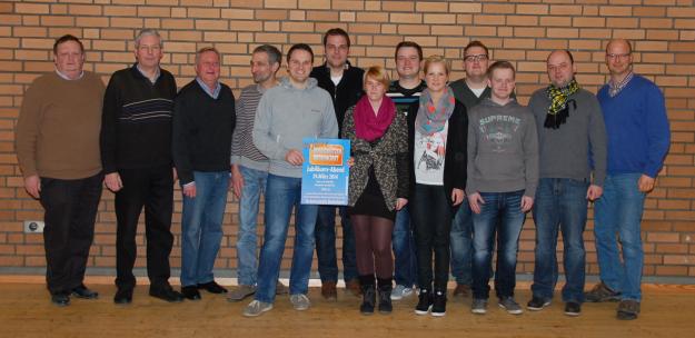 Organisationsteam des Jungschützen Jubiläums 2014 - 40 Jahre