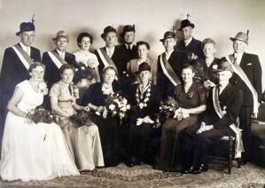 Throngesellschaft 1955-1956