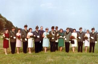 Throngesellschaft 1967-1968