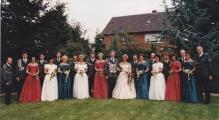 Throngesellschaft 1995-1996
