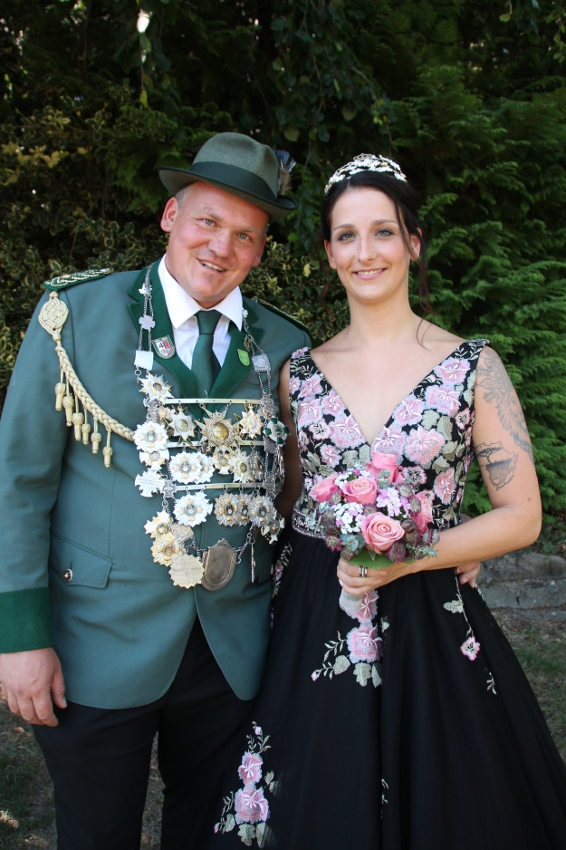 Königspaar 2018-2019 Peter I. Daniel & Mareike I. Seidel