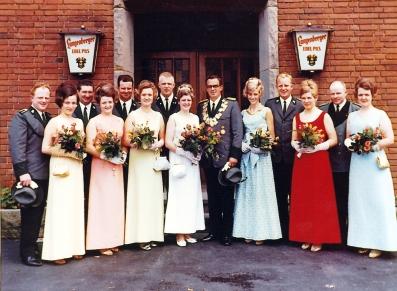 Throngesellschaft 1968-1969